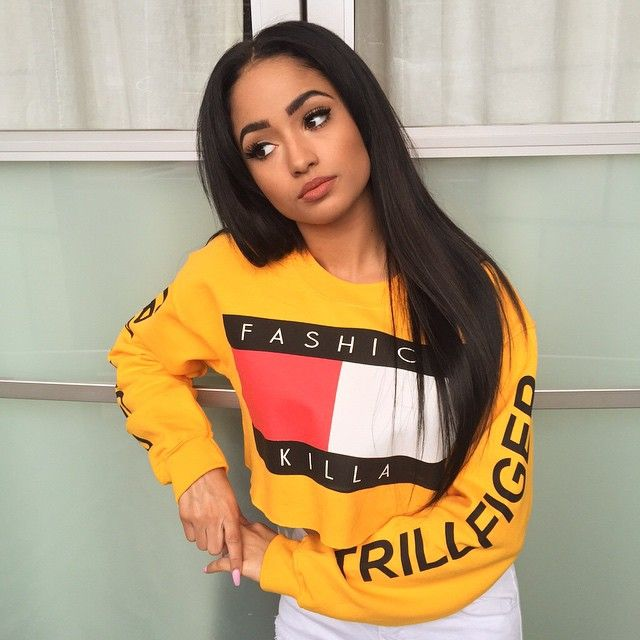 Thank You @sotomilitia For My Fashion Killa x Trillfiger Crop Top