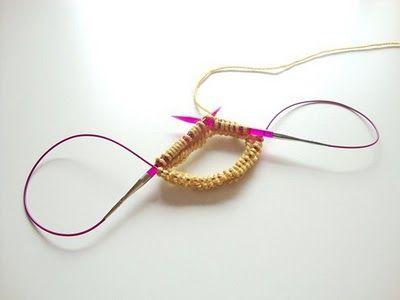 Les 207 meilleures images du tableau pour tricoter sur pinterest crochet de tricot tricoter - Tricot aiguilles circulaires magic loop ...