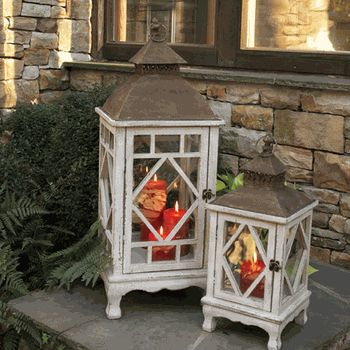 Chinoiserie Lanterns (Set-2)