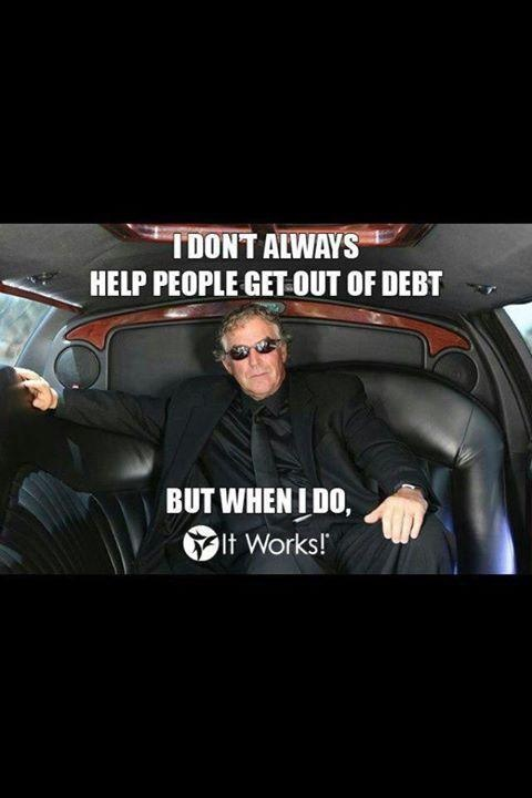 The CEO of It Works Global! Mark Pentecost.  Learn more at wrapinsunshine.myitworks.com or email me at allison.castille@gmail.com