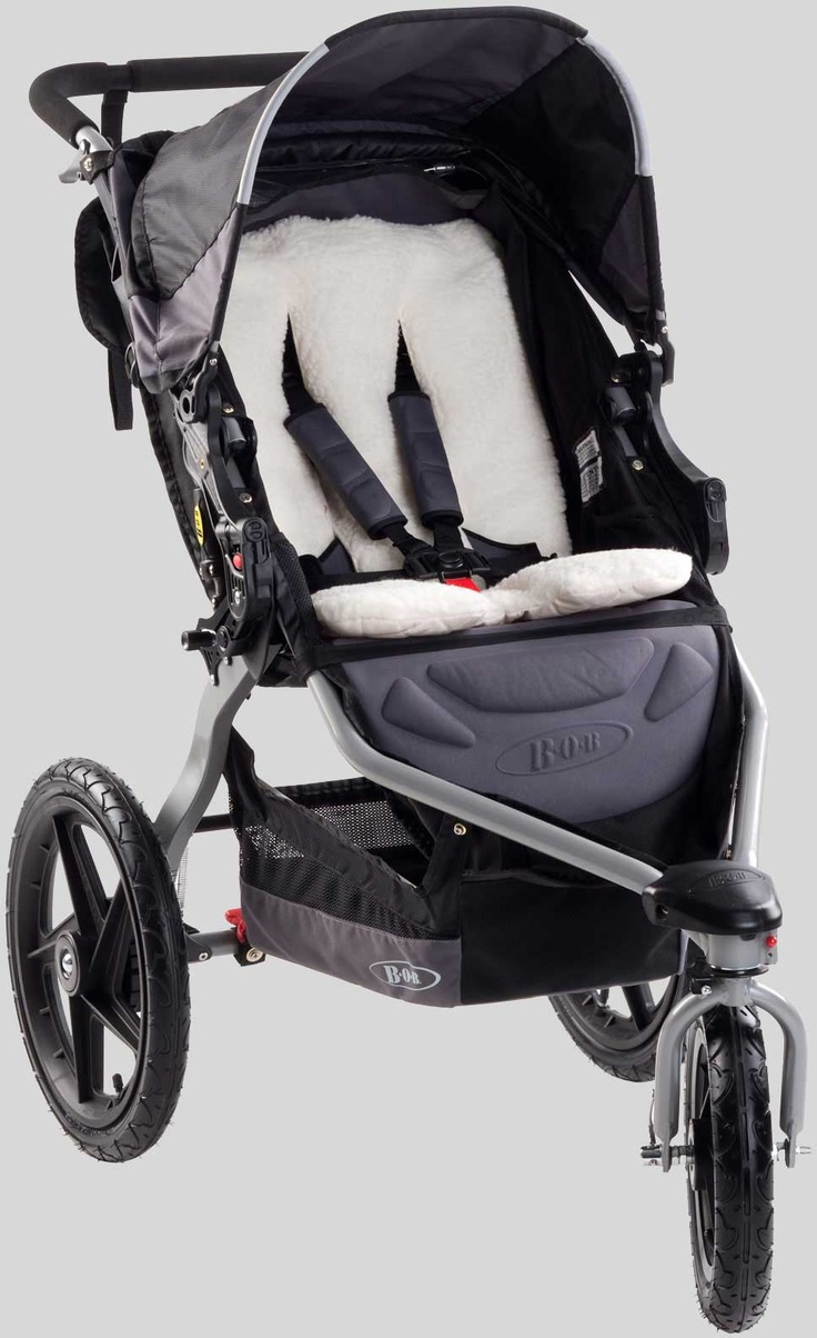 BOB Warm Fuzzy - keeping baby cozy with thick fleece paneling and quilted padding - BOB Stroller Accessories   BOB