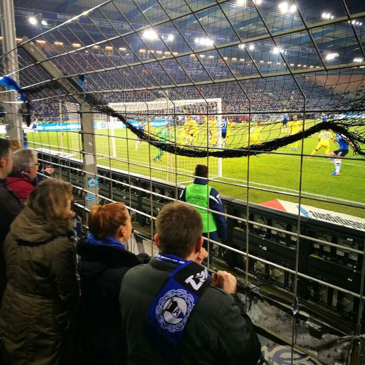 Fußball gucken auf der Bielefelder Alm