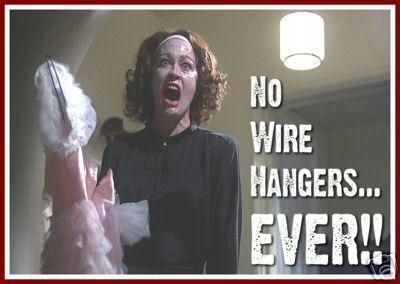 - Joan Crawford in Mommie Dearest (1981)
