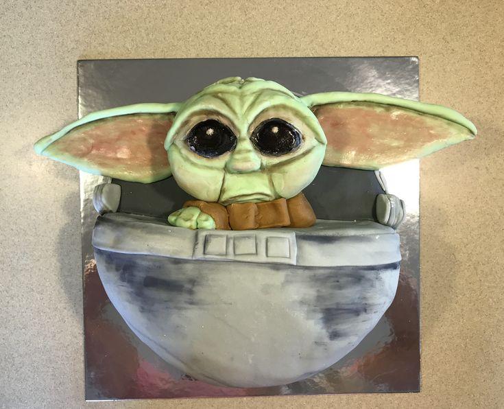 Baby yoda birthday cake birthday birthday cake painting