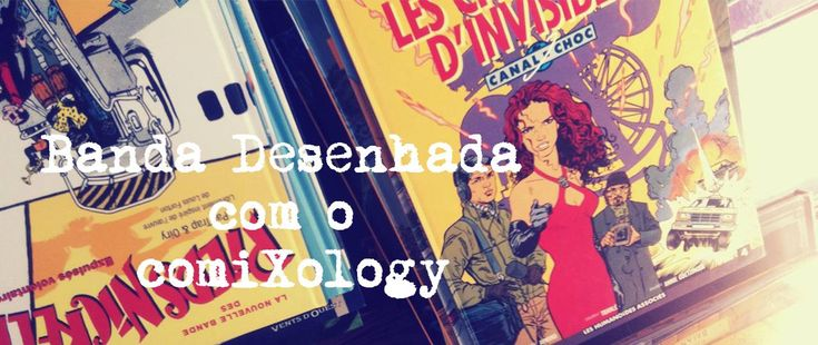 Banda Desenhada com o comiXology