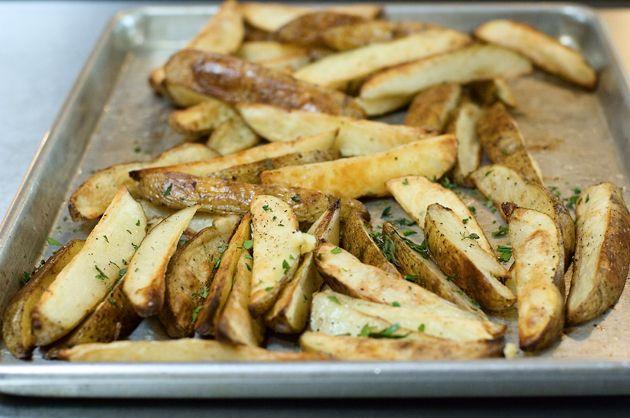 Roasted Potato Wedges via The Pioneer Woman