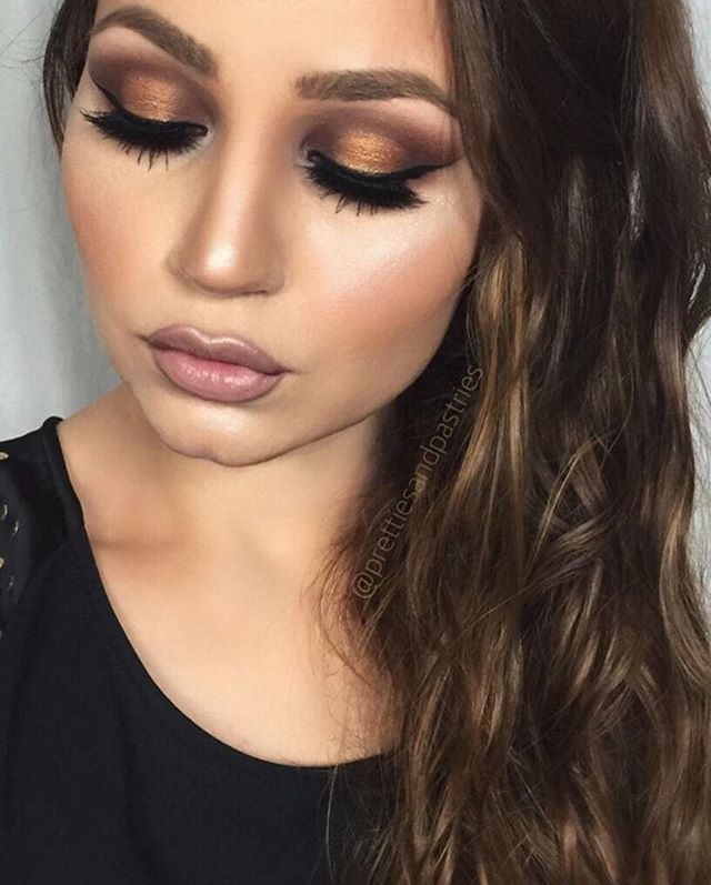 ❤️Beautiful @prettiesandpastries Lashes: Grand Glamor Shadows: Mac warm neutral x15 palette (amber lights, dark brew) #vegas_nay #vegasnayLashes