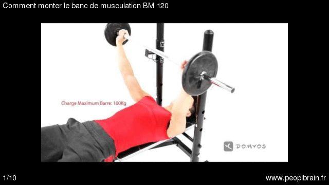 Comment monter le banc de musculation BM 120? Mon expérience du montage du banc de musculation BM 120. Le guide complet ici http://www.peoplbrain.fr/tutoriaux/sport/monter-le-banc-de-musculation-bm-120