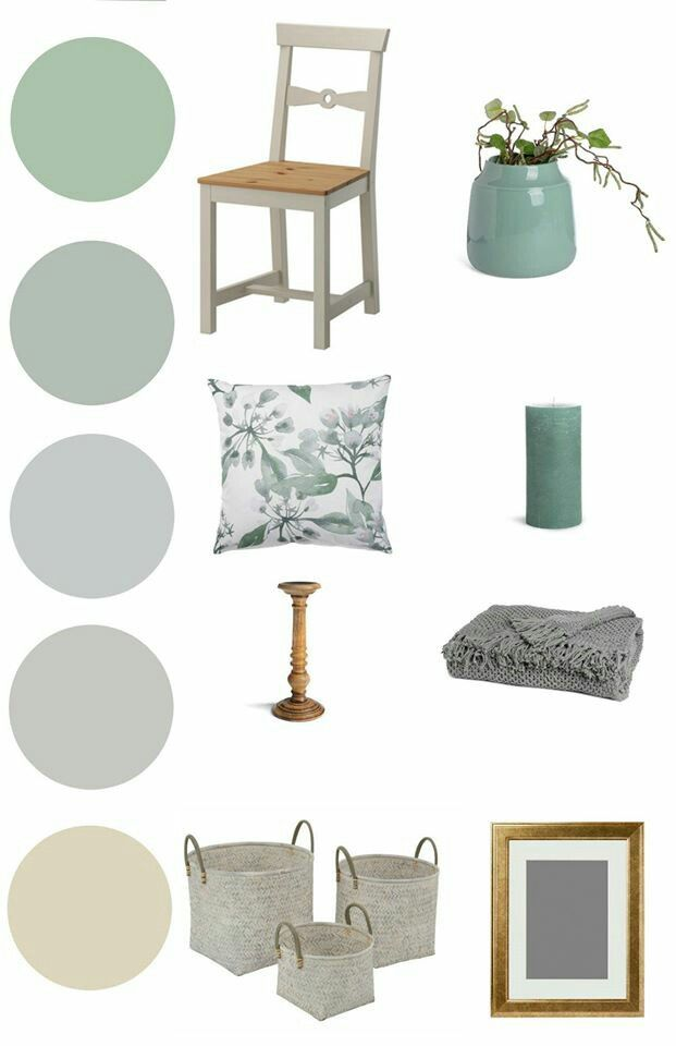 home design inspiration mintgreen grey, colors from alpina