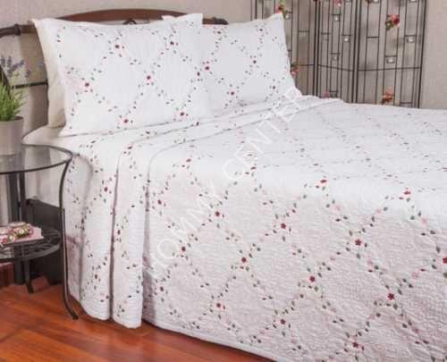 Begonville Lianna Krem Yatak Örtüsü Çift Kişilik   Begonville   Yatak Setleri