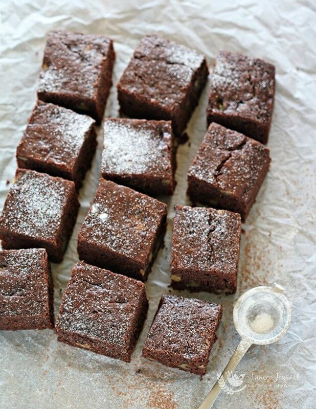 Buttermilk Brownies 白脱牛奶布朗尼 - Anncoo Journal