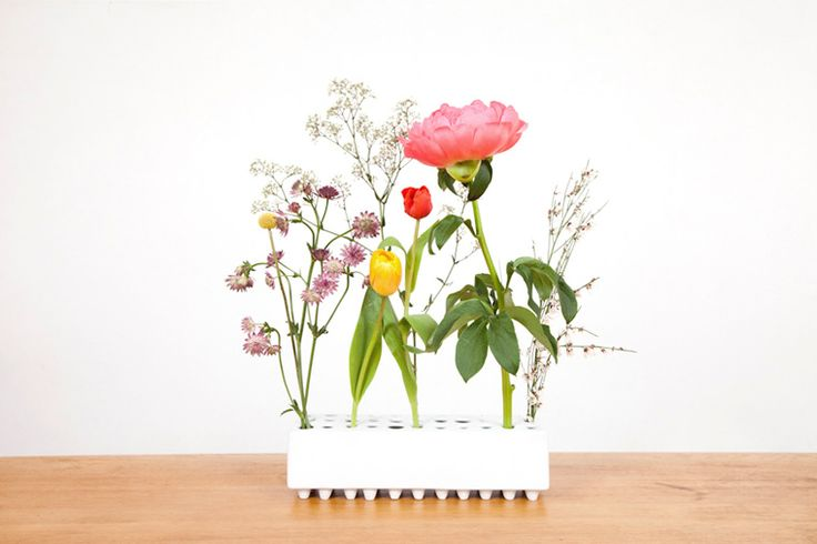 ARRAY Design Vase Porzellan weiß - MILJØ INTERIOR