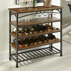 Home Styles Modern Craftsman Wine Rack