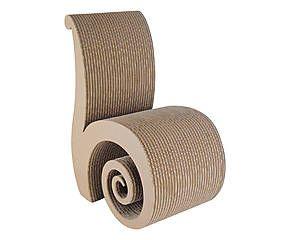 les 25 meilleures id es de la cat gorie chaise en carton sur pinterest meubles en carton. Black Bedroom Furniture Sets. Home Design Ideas