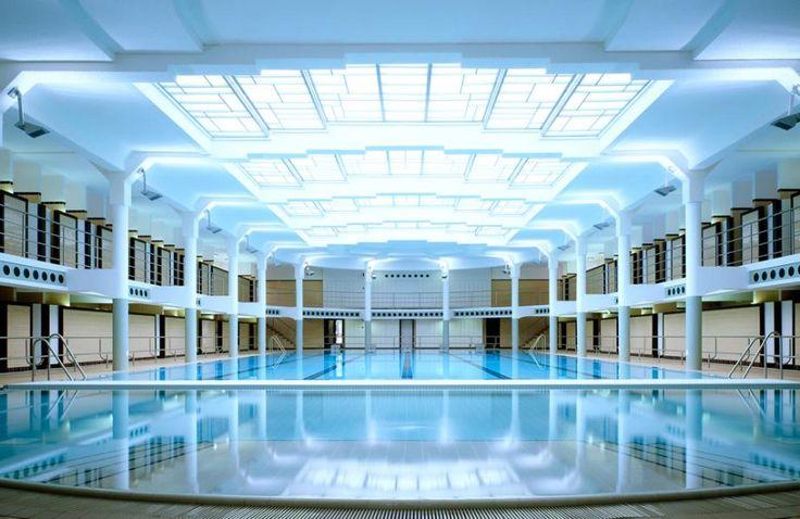 DONE: Van Eyck zwembad, Ghent, Belgium