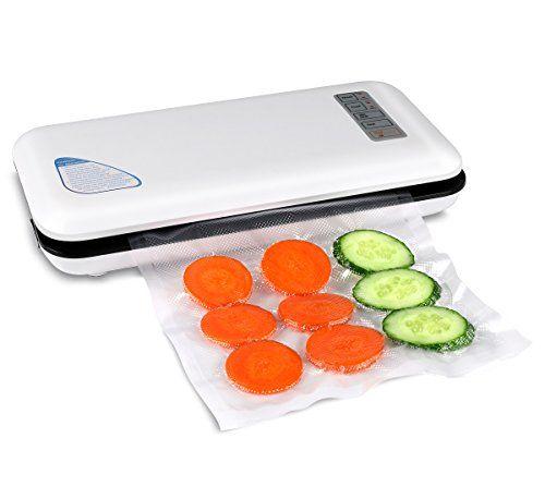 Vacuum Sealer AONOKOY Automatic Manual Vacuum Sealer Machine Food Saver.