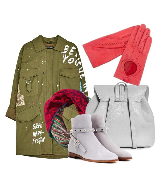 """""""Karma 17fall"""" by lbtimea on Polyvore featuring H&M, Boohoo and Valentino"""