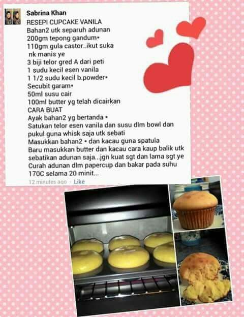 Cupcake vanila