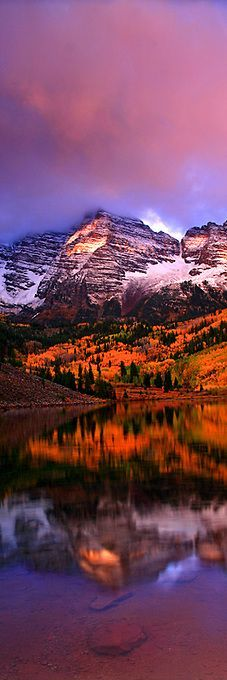 ??? Aspen Bells - Maroon Bells, Colorado, United States. #photography #nature