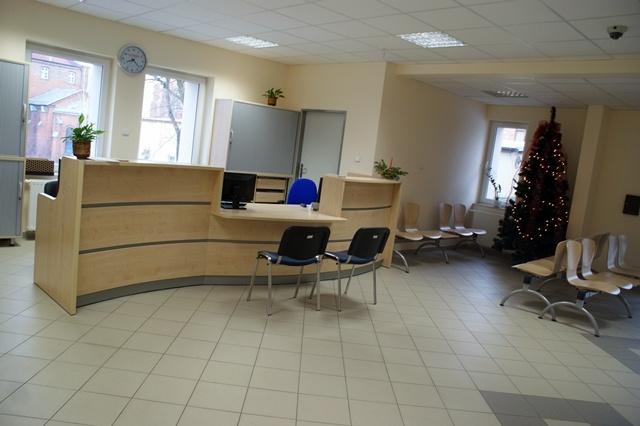 Rejestracja Pacjentów w Bonifraterskim Ośrodku Zdrowia w ramach którego funkcjonują Poradnie Specjalistyczne -  zakończenie prac grudzień 2012r.