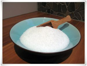 In bad met Epsom zout