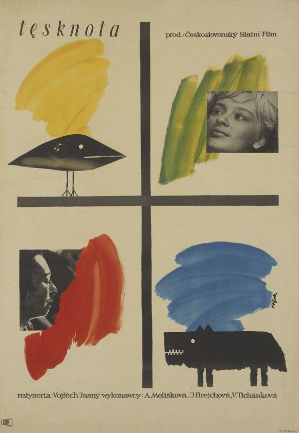'Tesknota' / 'Desire', Artist: Jerzy Flisak, 1959