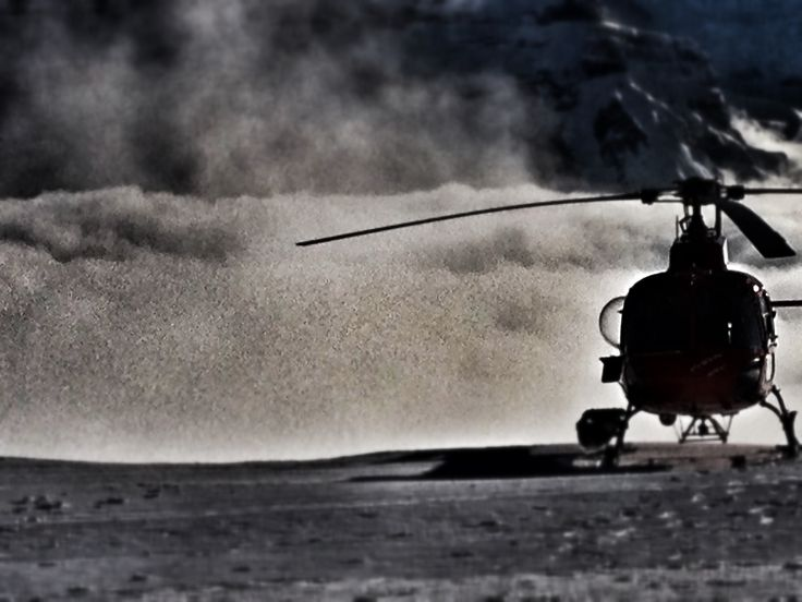 Helicopter start