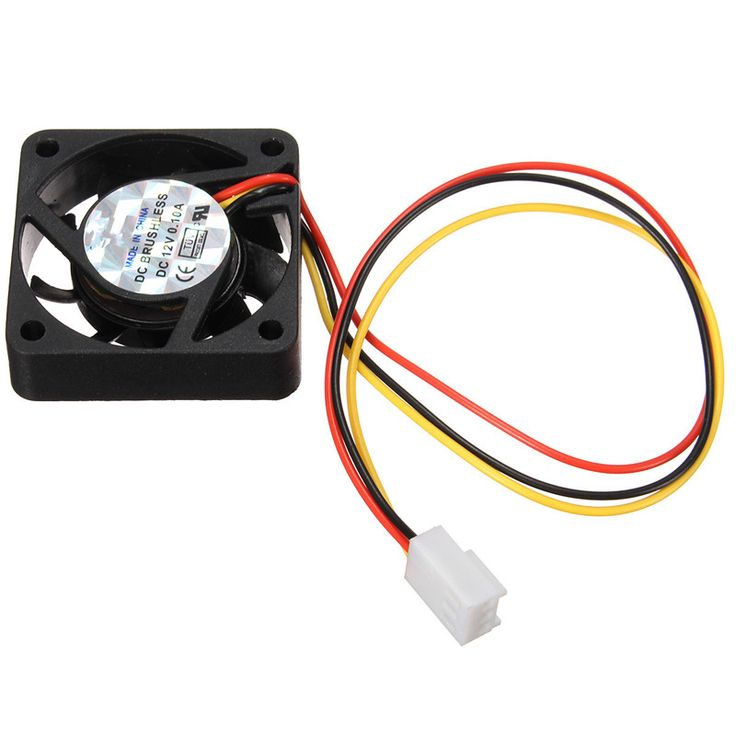 High Quality Computer Cooling Fan 12V 3pin 40x40x10mm Cool Cooler Fan for Computer Case CPU Cooling Fans