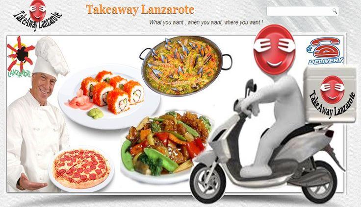 Takeaways Lanzarote,  takeaways online, food delivery in Playa Blanca Lanzarote. Indian takeaway, chinese takeaway, kebabs, pizza takeaway