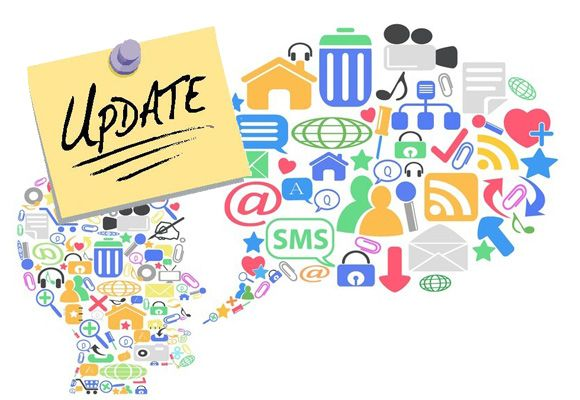 Tips voor het updaten van je sociale netwerken [cheatsheet]