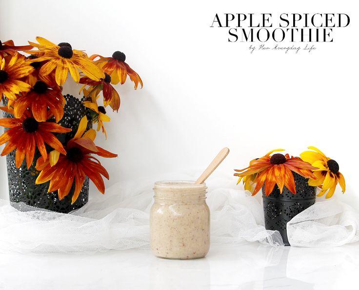 Apple Spiced Smoothie  #smoothie #recipe #vegan