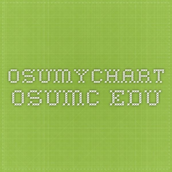 osumychart.osumc