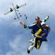First static line skydive from 5000 ft completed in AL.  1994.