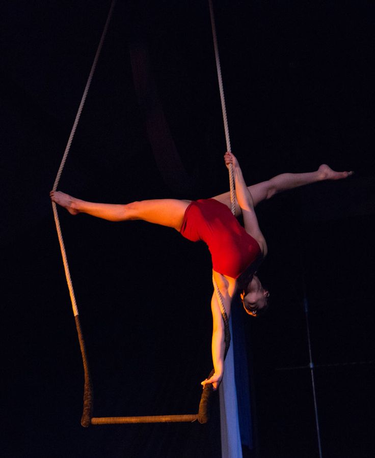 Circus in Progress: An Evening of Daring New Work - static trapeze - Evanston