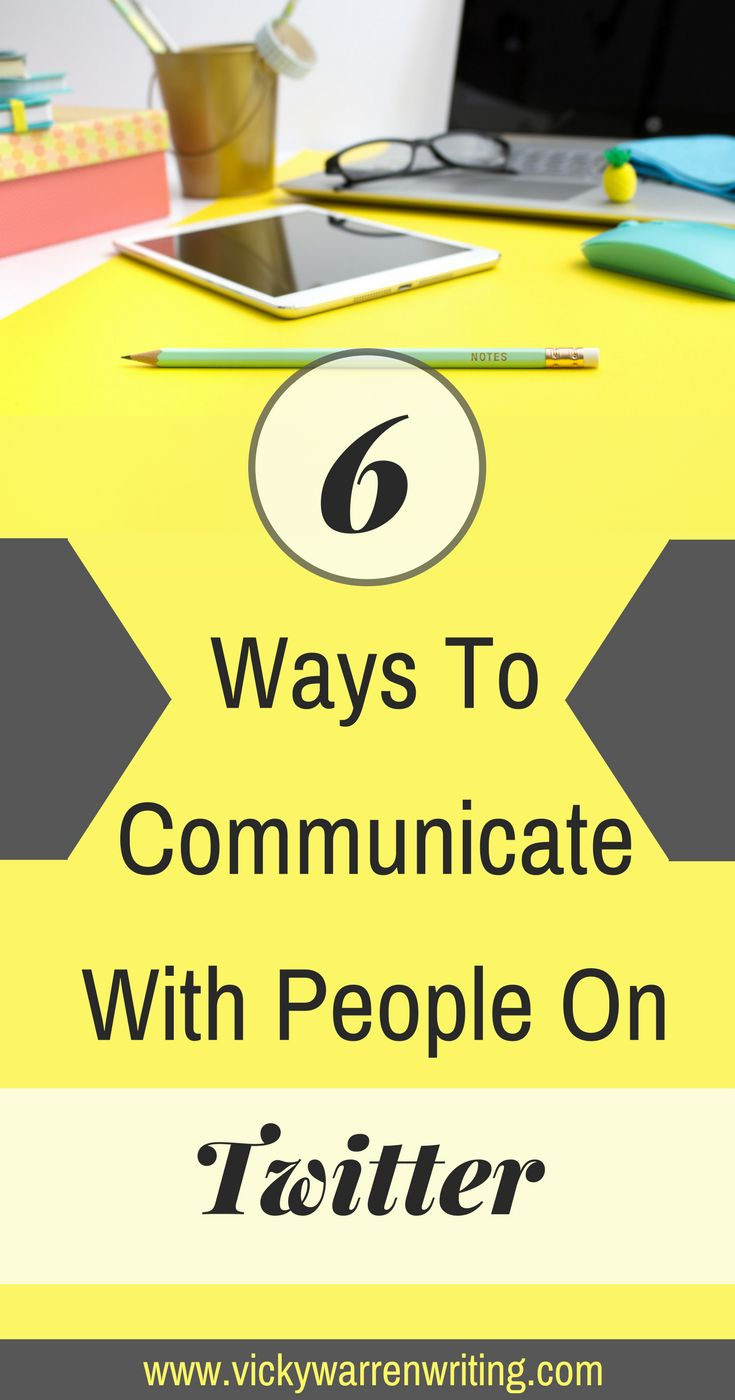 If you're unsure of how to reach out to people on Twitter, check this out!  via @https://www.pinterest.com/VickyWriting/