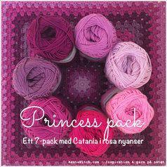 Catania Princess Pack - ett färgkoordinerat 7-pack i rosa och lila nyanser. Bara hos BautaWitch.com