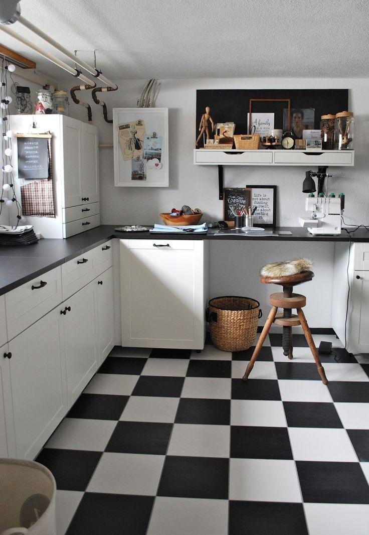 Waschküche + Arbeitszimmer