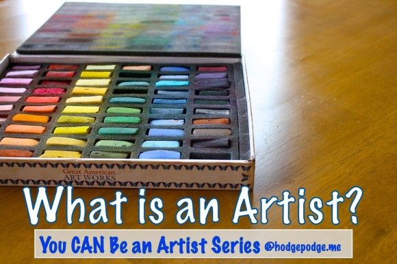 """All of us are born with talent….an inbred wiring to create."" You Can Be An Artist Day 1 - What is an artist?"