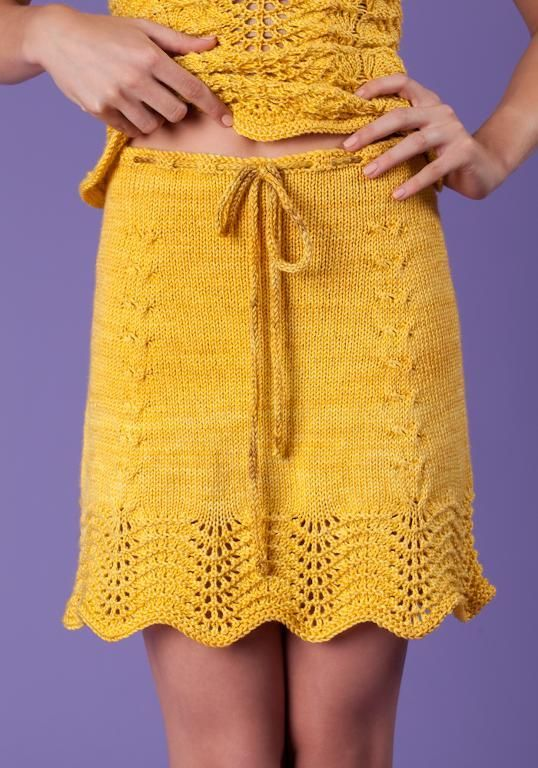 Skirt Knitting Pattern Free : 17 Best ideas about Knitted Skirt on Pinterest Knit skirt, Knitting project...