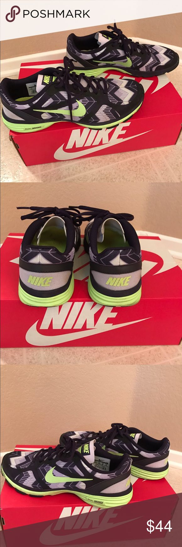 Women's Nike dual fusion shoes Great condition! Women nike dual fusion shoes. Size 7! Nike Shoes Athletic Shoes