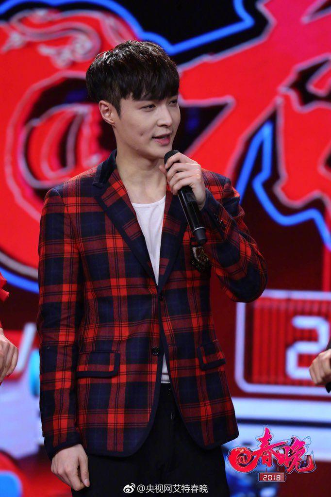 180217 #Lay #Yixing #Exo at CCTV艾特春晚 Weibo update
