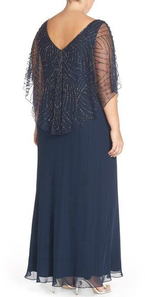 J Kara Plus Size Gowns
