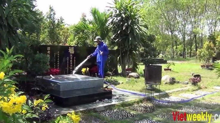thăm mộ các Văn nghệ sỹ tại Hoa viên nghĩa trang Bình dương