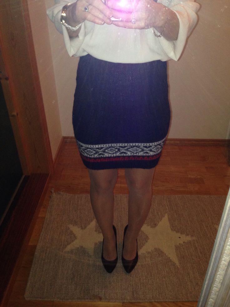 Knitted Marius skirt