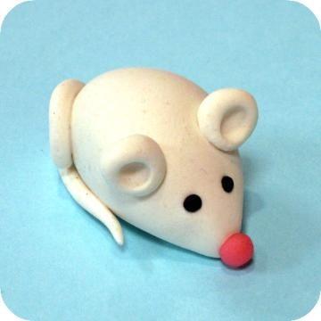 Dahlia's Custom Cakes: Marzipan Mice