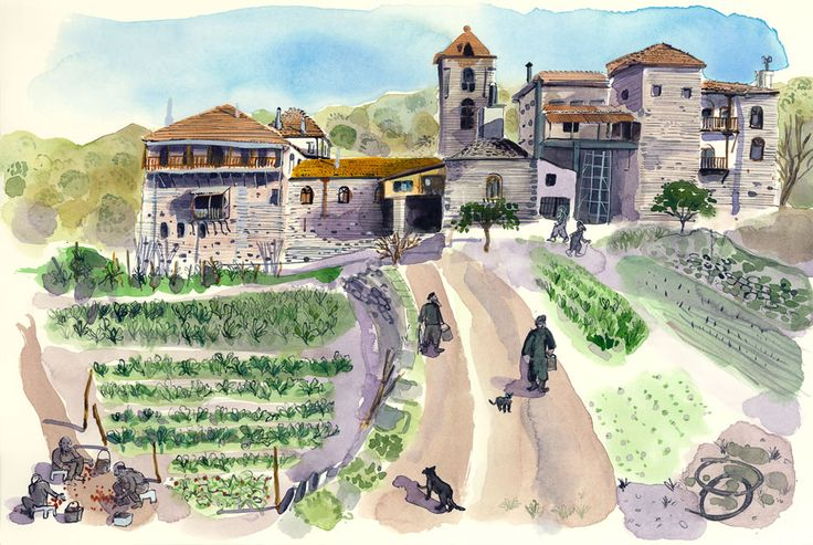 'Reportager' : Projects : Mount Athos Project