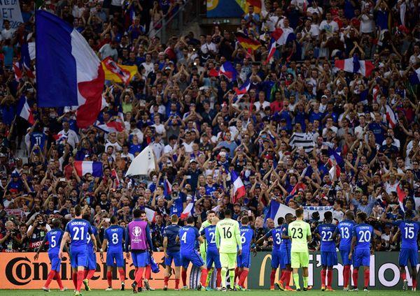 Kalahkan Panser, Prancis Susul Portugal ke Final