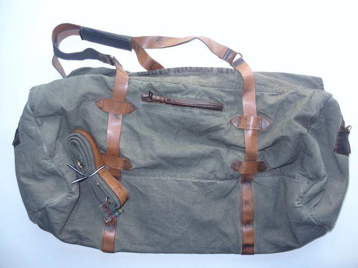 Old Cotton Cargo Bag - BAG#26 (69,- €)