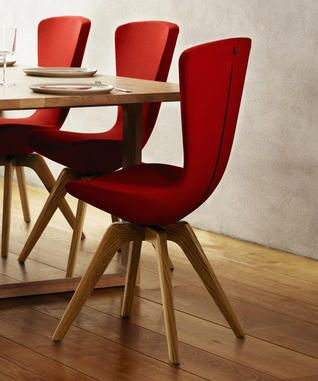 """Varier """"invite"""" dining chair. Aesthetically AND ergonomically smart."""