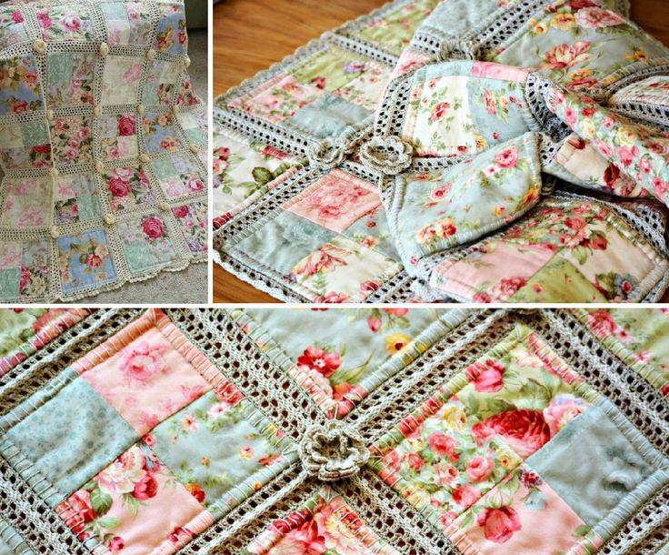 Crochet Patterns Quilt Blocks : Best 20+ Crochet quilt ideas on Pinterest Crochet fabric ...